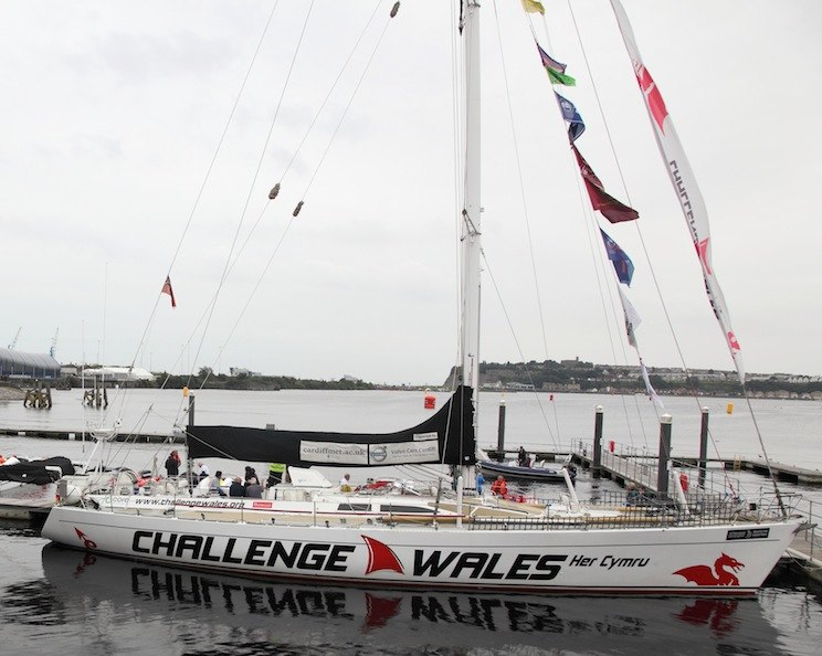 Challenge Wales a sail training charity 72 ft round the world yacht
