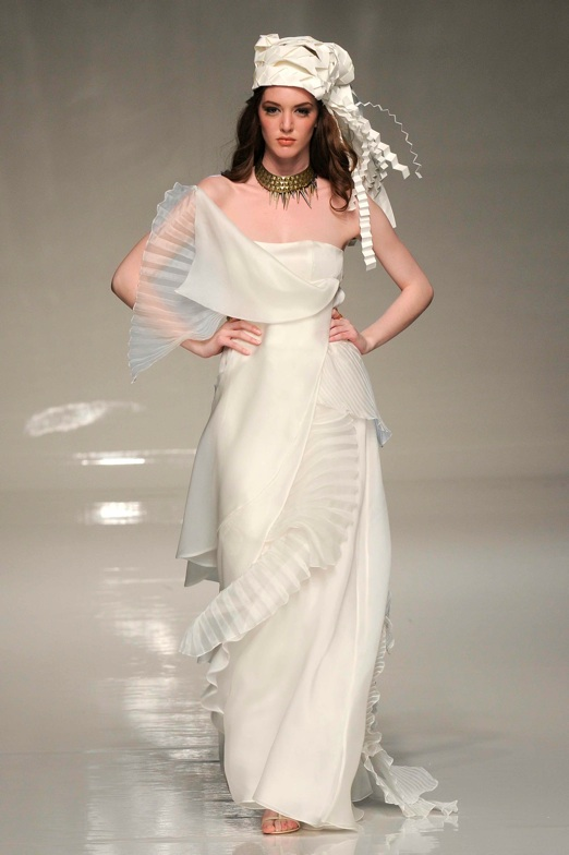 Iris design style name by Victoria kyriakides 2013 Bridal fashion